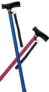 ベーシック伸縮カラー杖