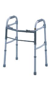 アルミ軽量固定歩行器