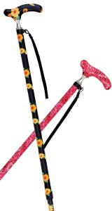 細首伸縮カラー杖