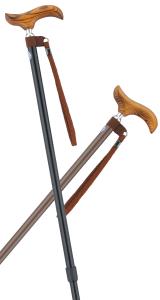 スライド伸縮杖