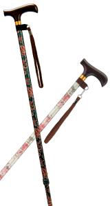 スリム伸縮カラー杖