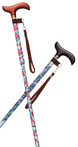 スリム伸縮折りたたみカラー杖