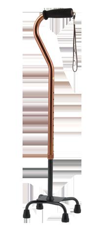 スワン型4点杖 スモールL